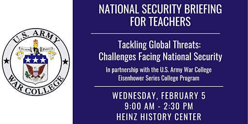 National Security Briefing for Teachers