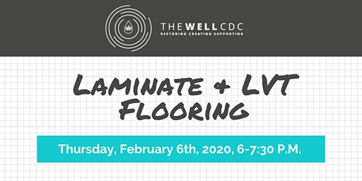 Home Maintenance Class: Laminate & LVT Flooring
