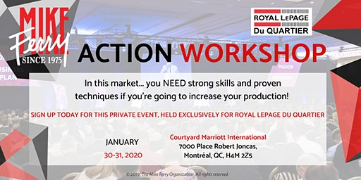 Action Workshop with Larry Kozak from MFO in Montreal