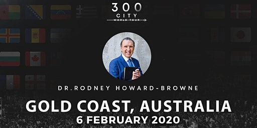 Rodney Howard-Browne in Gold Coast, Australia