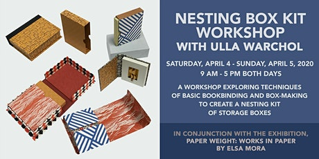 Nesting Box Kit Workshop with Ulla Warchol tickets