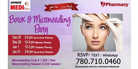 Botox & Micro Needling Party tickets