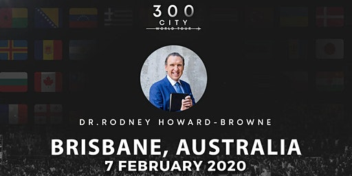 Rodney Howard-Browne in Brisbane, Australia