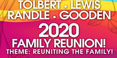 2020 Tolbert, Lewis, Randle, Gooden Family Reunion