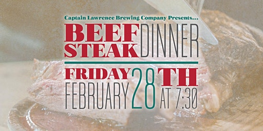 Beefsteak at Captain Lawrence