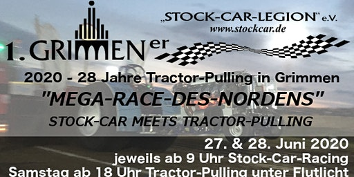 Mega Race des Nordens | Stock-Car meets Tractor-Pulling