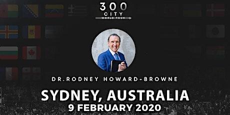 Rodney Howard-Browne in Sydney, Australia  tickets