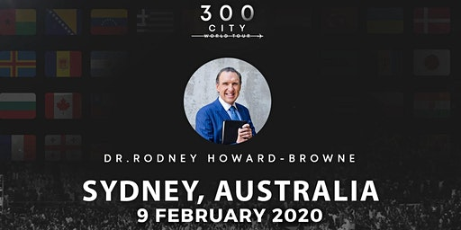 Rodney Howard-Browne in Sydney, Australia