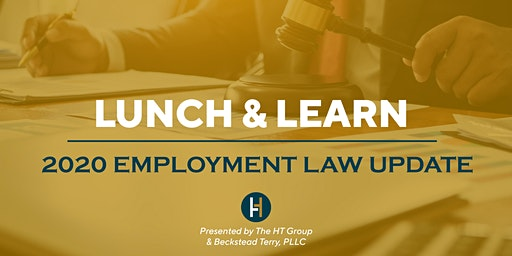 Lunch and Learn: 2020 Employment Law Update