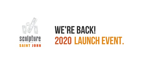Sculpture Saint John 2020 Launch tickets