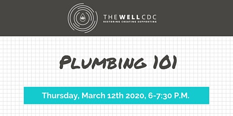 Home Maintenance Class: Plumbing 101 tickets