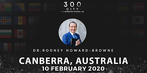Rodney Howard-Browne in Canberra, Australia