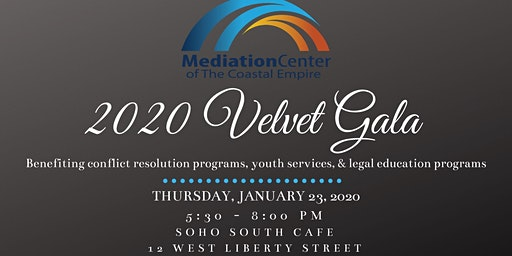 2020 Velvet Gala with the Mediation Center of the Coastal Empire