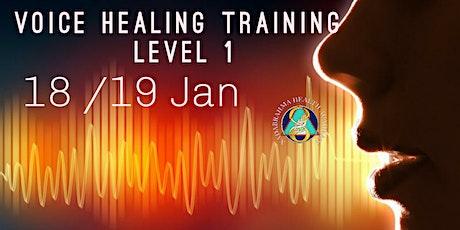 Voice Healing Training level 1 tickets