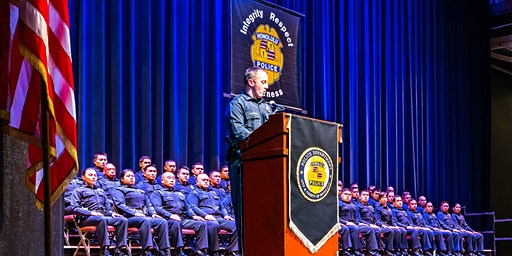 Metropolitan Police Recruit Info Session at Schofield Barracks