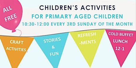 Children's Activities tickets