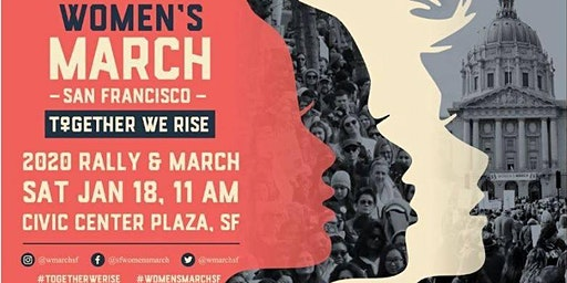 March with Human Rights Watch at the SF Women's March!