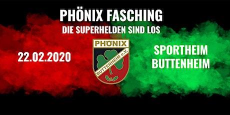 Phönix Fasching - Die Superhelden sind los Tickets