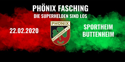 Phönix Fasching - Die Superhelden sind los