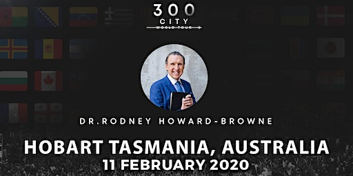 Rodney Howard-Browne in Hobart Tasmania, Australia