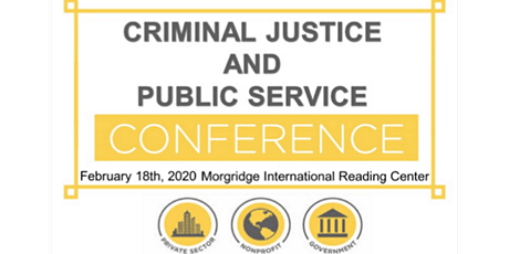 Criminal Justice & Public Service Conference tickets