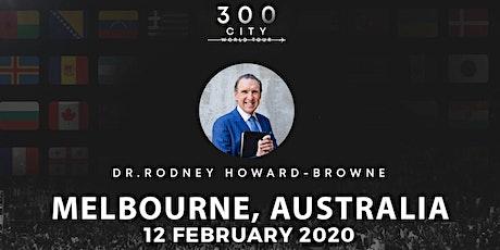 Rodney Howard-Browne in Melbourne, Australia tickets