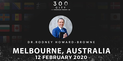 Rodney Howard-Browne in Melbourne, Australia