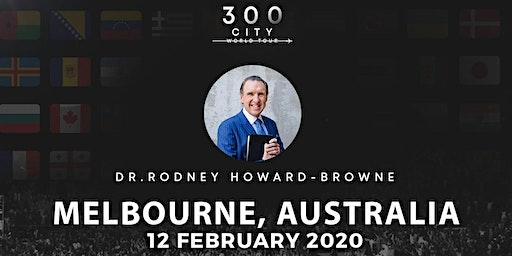 Rodney Howard-Browne in Melbourne, Australia