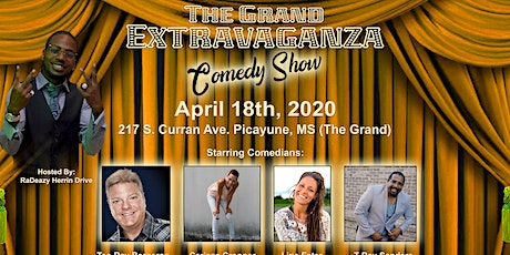 The Grand Extravaganza Comedy Show tickets