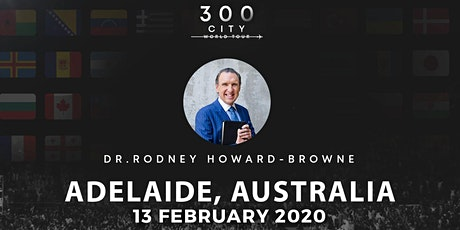 Rodney Howard-Browne in Adelaide, Australia tickets