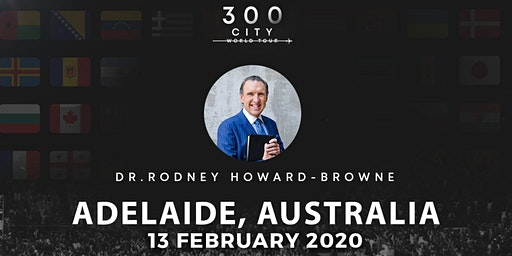 Rodney Howard-Browne in Adelaide, Australia