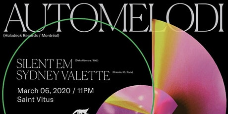 re:nü presents: Automelodi with Silent Em and Sydney Valette tickets