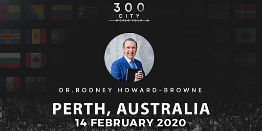 Rodney Howard-Browne in Perth, Australia