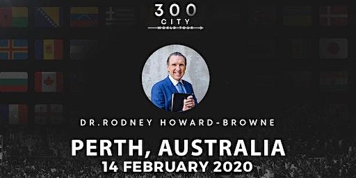 Rodney Howard-Browne in Perth, Australia