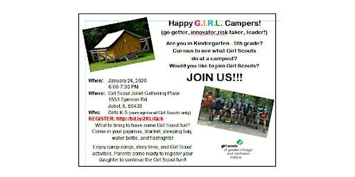 Happy G.I.R.L Camper!