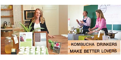 Brew Your Own 'Booch w/ Hoochy 'Booch Kombucha!
