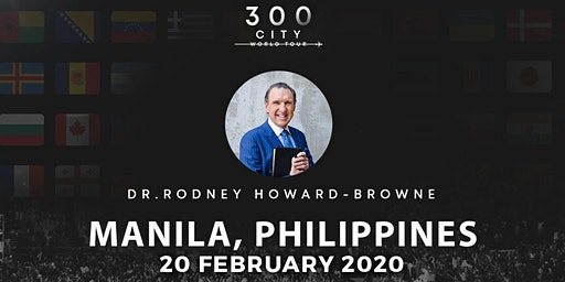 Rodney Howard-Browne in Manila, Philippines