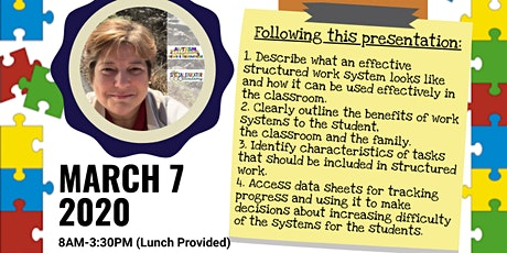 PART 2: Building Independence Through Structured Work Systems tickets