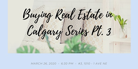 Buying Real Estate in Calgary Part 3 - Should You Consider a Legal Suite? tickets