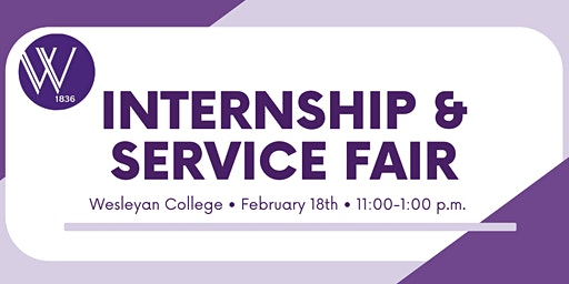 Internship & Service Fair