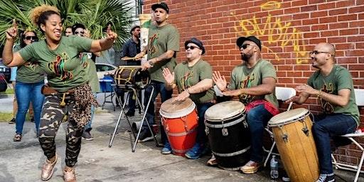 Music Under Glass: Bomba con Buya