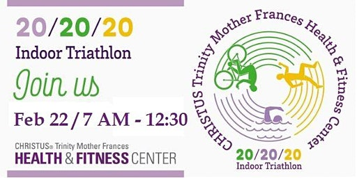 Christus Health & Fitness 20/20/20 Indoor Triathlon