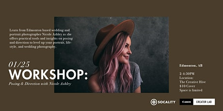 Socality x Canon Creator Lab: Posing & Direction with Nicole Ashley tickets