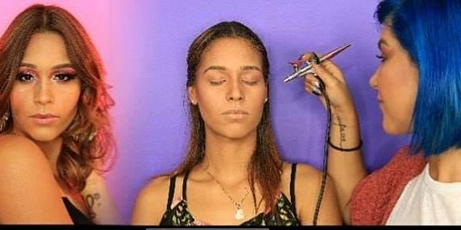 AIRBRUSH Makeup / Maquillaje en aerógrafo