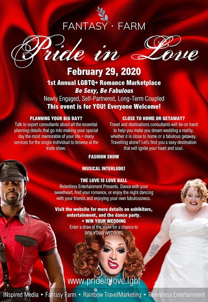 Pride in Love - 1st Annual image