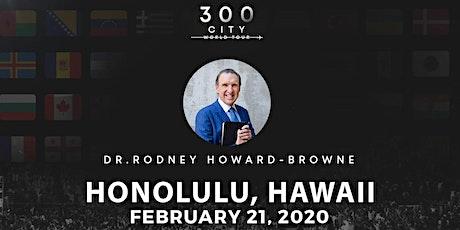 Rodney Howard-Browne in Honolulu, Hawaii tickets