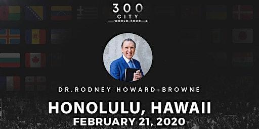Rodney Howard-Browne in Honolulu, Hawaii
