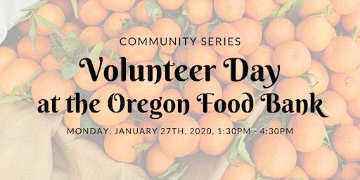 Perlene Volunteer Day at the Oregon Food Bank