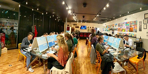 Art Wine Experience (Painting Class and Wine Sampling)