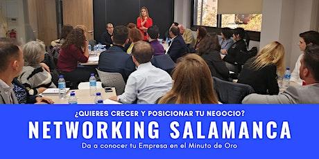 Networking Salamanca entradas